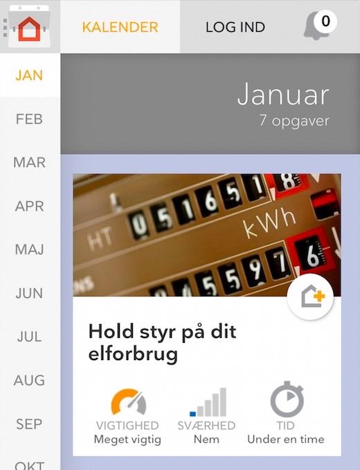 Anmeldelse af Huskalender